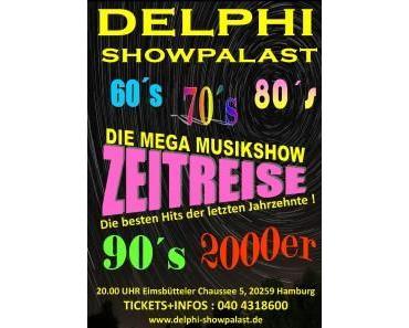 Mehrzad Marashi geht auf Zeitreise im Delphi Showpalast