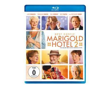 "Filmkritik ""Best Exotic Marigold Hotel 2"" (Blu-ray)"