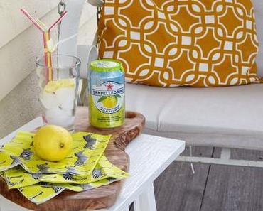 Die vordere Veranda, Getränke- und Lese-Tipp für heisse Tage und kühles Schaukeln