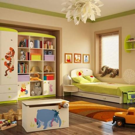 Coole Ideen für stylische Kinderzimmer