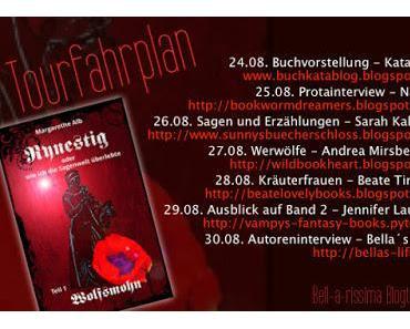 """[Blogtour] Blogtour """"Wolfsmohn"""" von Margarethe Alb - Thema: Kräuterfrauen"""