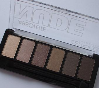 Catrice Nude Palette offen