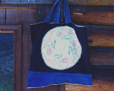 12 Monate 12 Taschen Augusttasche