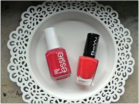A butterfly: [Blogparade] My favorite Summer Nailpolish