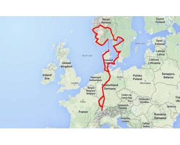 Skandinavien: 6242,6 Kilometer und 0,0 Elch