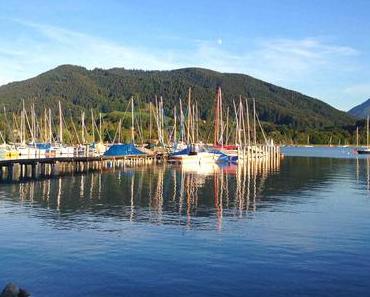 Ein Sommertag am Tegernsee: die volle Dosis Oberbayernidylle