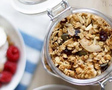 Kokos Granola mit Parfait Rezept