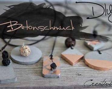 DIY Betonschmuck
