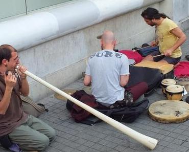 Strassenmusiker in Istanbul