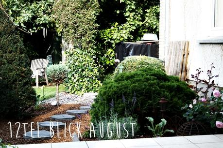 Blog + Fotografie by it's me! - 12tel Blick im August - Terrassenbeet