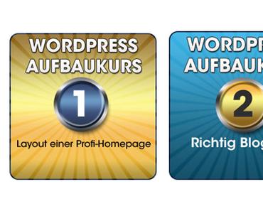Wie Du mit den neuen WordPress Aufbaukursen Deine Webseite verbesserst!