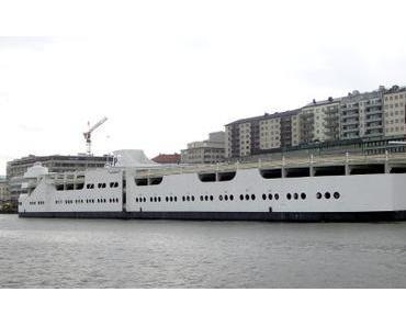 das schwimmende Parkhaus in Göteborg