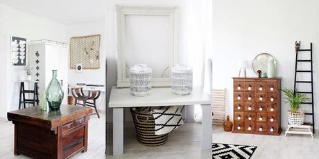 Vorher Bilder Zum Thema Styling Mit Orchideen Zeigt Wohnzimmer Ohne