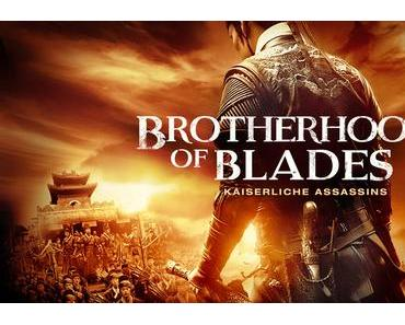 Review: BROTHERHOOD OF BLADES - Spektakel auf Sparflamme