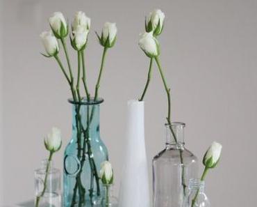 DIY (H.O.M.E.): Schicke Tischdeko mit Schnittblumen