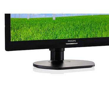 Die Raumlösung für Laptops? Der Philips LCD-Monitor mit/inklusiv USB-Dockingstation