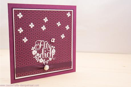 Stampin Up_Card_Embossing_Einfach toll_Boheme