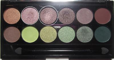 LOOK | Sleek Garden Of Eden Palette #2