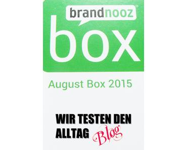 [BRANDNOOZ] August 2015 Box
