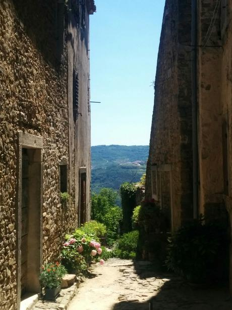 {UNTERWEGS} in Istrien – Motovun