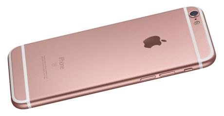 iphone 6s in pink