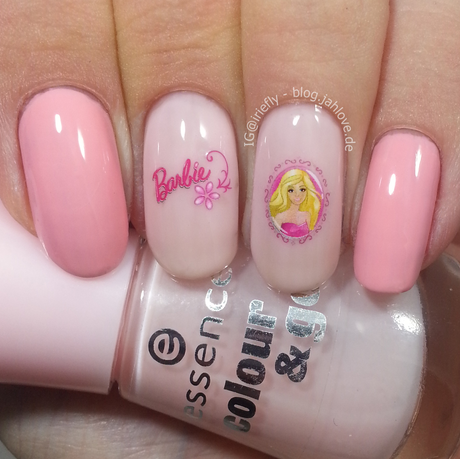 [Nails] Rosa Barbie-Nägel