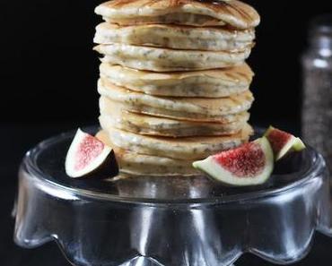 Vegane Chiapancakes mit Feigen & Zimt