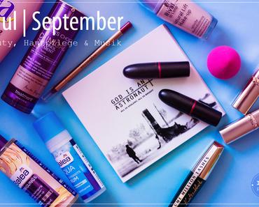 Haul September | Hautpflege, Beauty & Musik