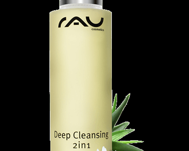 RAU Cosmetics Deep Cleansing 2in1
