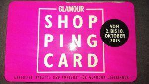 Meine Highlights bei der Glamour Shopping Week Oktober 2015