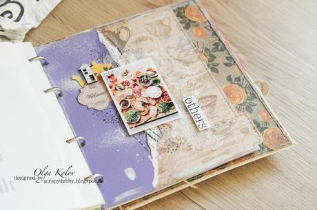 Inspiration ScrapBerry's Cookbook from Collection love cooking