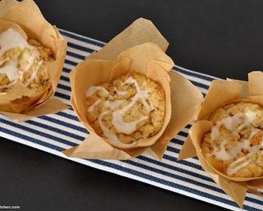 Klein, aber fein ... Apfel-Streusel-Muffins mit Geheimzutat