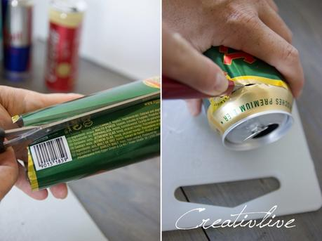 DIY Getränkedosenupcycling