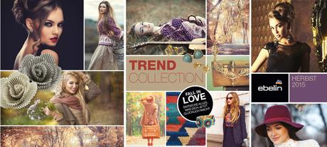dm  -  ebelin Trend Collection / Neuheiten Herbst 2015