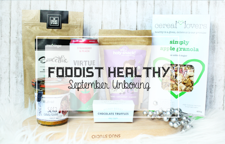 Unboxing - Foodist Healthy Box September