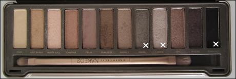 LOOK | Urban Decay Naked 2 Palette #1