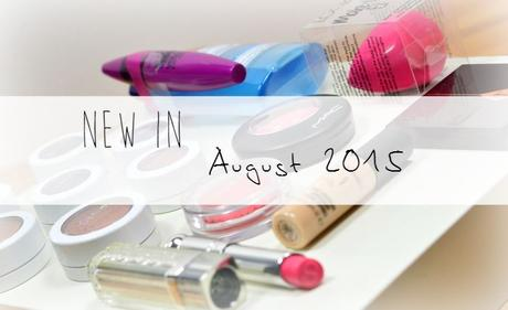 New In - August 2015
