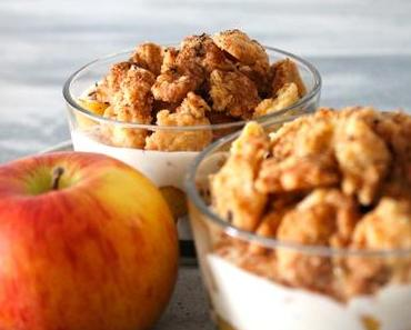 Sweet Sunday: Apfelkuchen im Glas