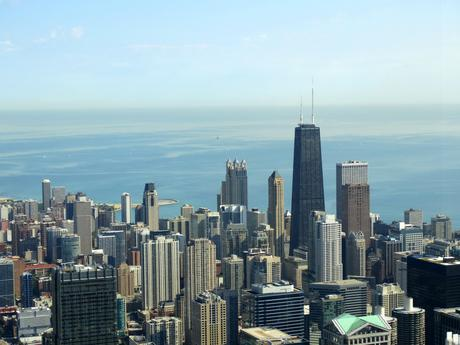 Chicago Skyline vom Willis Tower