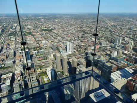 Glasbalkon Willis Tower Chicago