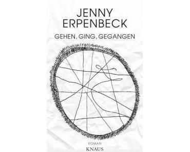 """Bloggertalk über Jenny Erpenbeck und ihren Roman """"Gehen, ging, gegangen"""""""
