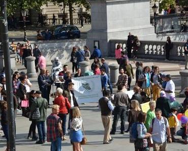 Teheran, London und Berlin - Proteste gegen Menschenrechtsverletzungen im Iran