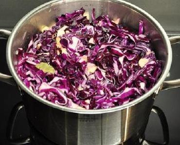 Lila, weinrot, marsala, aubergine, pflaume, rostrot: so schön wie die Mode ist das Essen im Herbst
