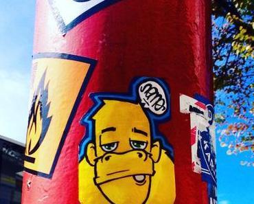 Berlinspiriert Photo: In einer Stadt voller Affen ist es laut und bunt…..