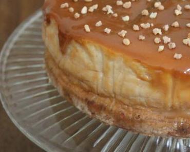 Alles Käse: Cheesecake mit Dulce de Leche - ein Gedicht!