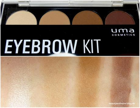 UMA Cosmetics Why not, wild hot! LE - Review Eye Brow Kit