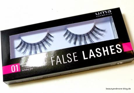 UMA Cosmetics Why not, wild hot! LE - Review - Lashes
