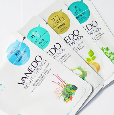 VENEDO BEAUTY FRIENDS SHEET MASKS