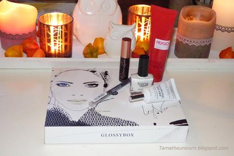 [Unboxing] Glossybox September Black & White Edition