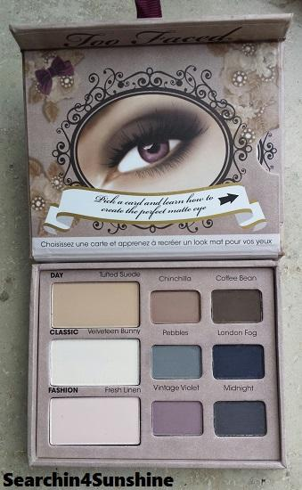 [Haul] Too Faced Matte Eye Shadow Collection